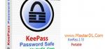 دانلود نرم افزار مدیریت کلمات رمز KeePass 2.13 Portable