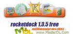 با RocketDock 1.3.5 منوی جذاب مک را در سیستم خود داشته باشید