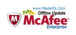 آپدیت آفلاین آنتی ویروس McAfee نسخه ی Enterprise ورژن 8 کد 6185 به تاریخ December 3, 2010