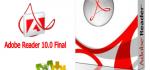 دانلود نرم افزار قدرتمند مشاهده فایل های پی دی اف  Adobe Reader 10.0 Final