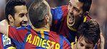قهرماني بارسلونا با غلبه بر منچستريونايتد
