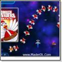 بازي كامپيوتري مرغ هاي مهاجم Chicken Invaders 3 نسخه ي كريسمس