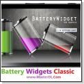 دانلود نرم افزار آندروید Battery Widgets Classic V1.6.8