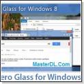 شفاف سازی پنجره ها در ویندوز ۸ توسط Aero Glass for Windows 8 v1.2