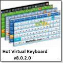 نرم افزار کیبورد مجازى virtual keyboard v8.0.2.0