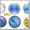 مجموعه ساعت فلش برای ویندز اکس پی - clocX xp