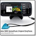 دانلود مجموعه زنگ های فابریک زیبا برای  Nokia 5800 XpressMusic