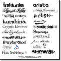 کلکسیون ۱۰۰ فونت زیبای انگلیسی English Fonts