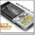 مدیریت فایل های گوشی های سونی اریکسون با نرم افزار SEFM 0.8.5