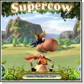 بازی کامپیوتری جذاب و کم حجم گاو قهرمان SuperCow PC Game