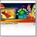 بازی بسیار زیبا و جذاب Mini Golf Wacky Worlds 3D - پاکت پی سی