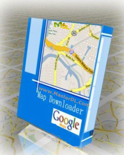 google map downloader logo
