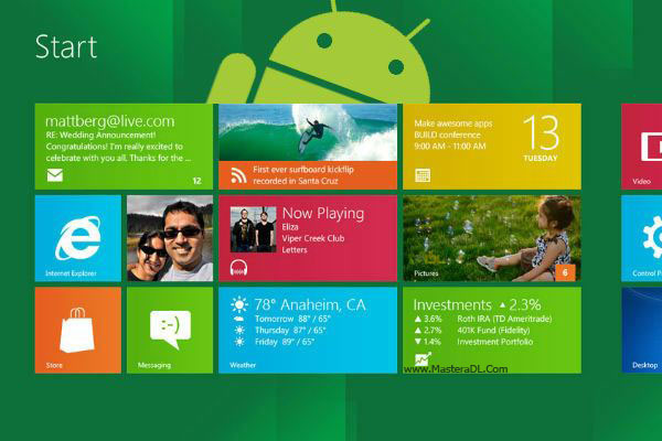Windows-8-Android