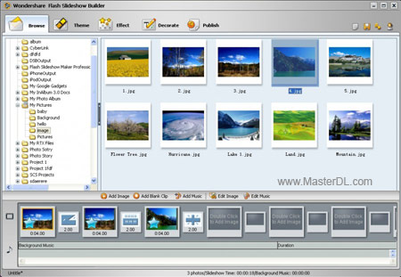 Wondershare-Flash-Slideshow-Builder